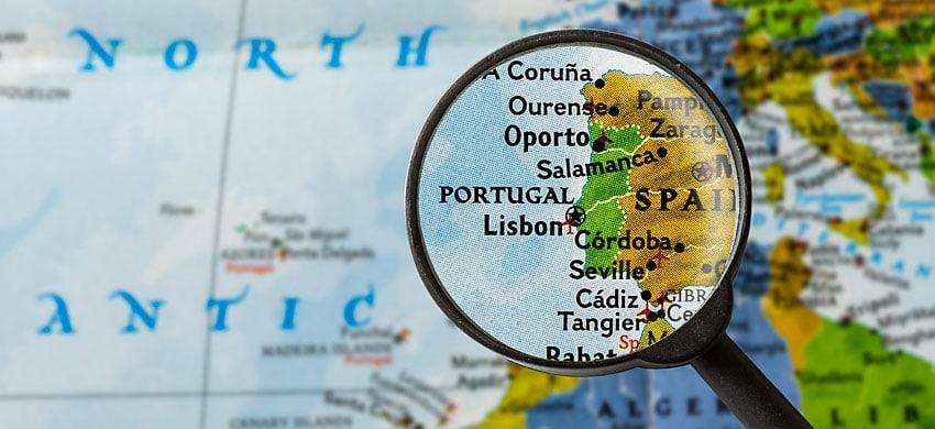 Cartina Dettagliata Del Portogallo.Mappa Del Portogallo Cartina Interattiva E Download Mappe In Pdf Portogallo Info